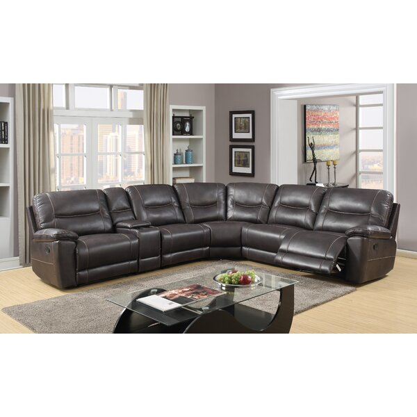 Top Brand Trower Symmetrical Reclining Sectional by Red Barrel Studio by Red Barrel Studio