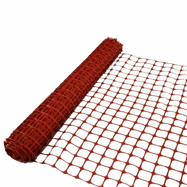 4 ft. H x 100 ft. W Guardian Safety Netting Fencing by Abba Patio