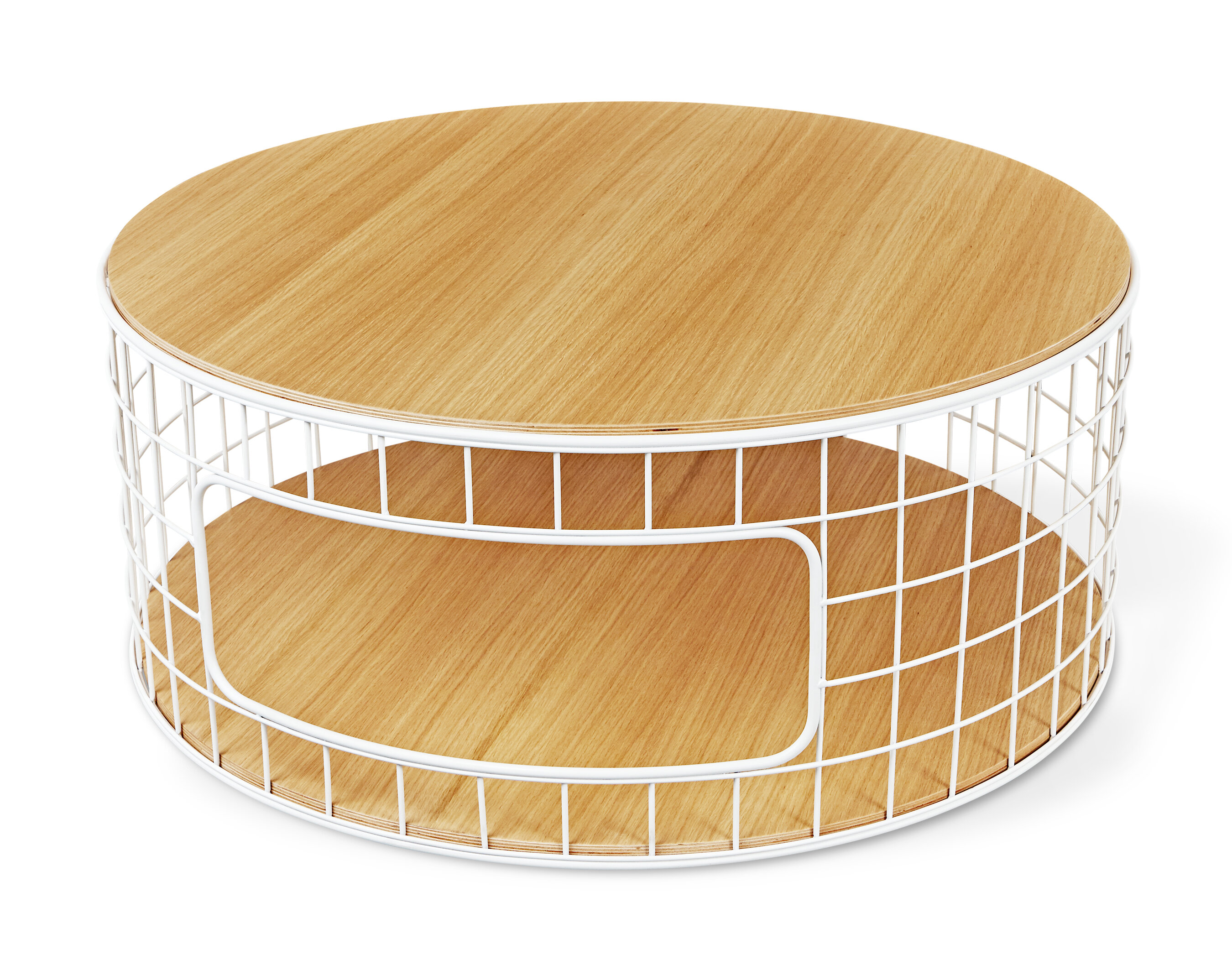 Industriel Table Basse Palette wireframe coffee table