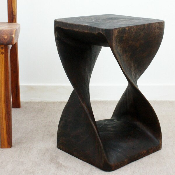 Doyal Twist High End Table by Bloomsbury Market