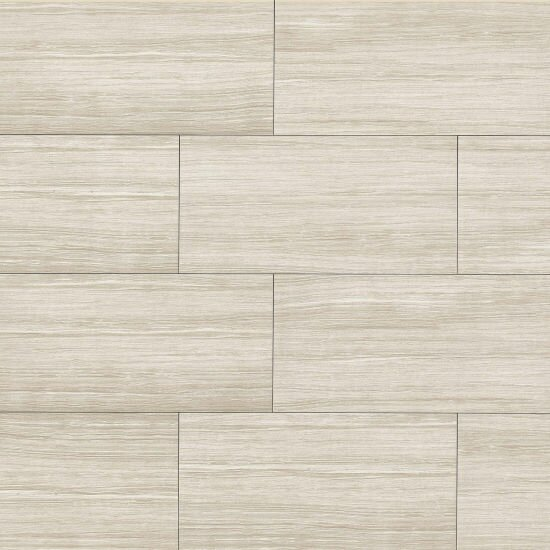 Haven 12 x 24 Porcelain Field Tile in Matte Beige by Grayson Martin
