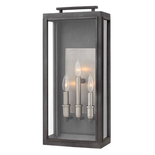 Scutcliffe 3 Light Outdoor Wall Lantern By Hinkley Lighting.
