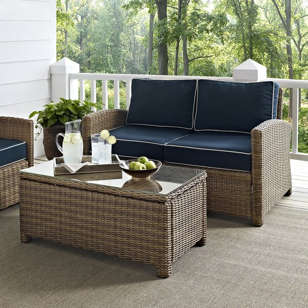 Dardel 2 Piece Sofa Set with Cushions by Beachcrest Home