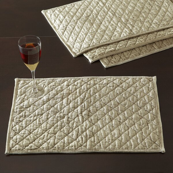 Harley Quilted Placemats (Set of 4) by Birch Lane™