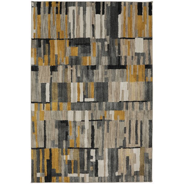 Muse Mustard Yellow Area Rug by Mohawk Home
