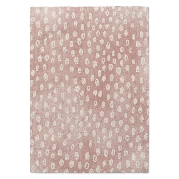 Alland Pink Area Rug by Harriet Bee