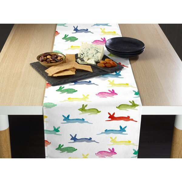 Espino Hippity Hop Milliken Signature Table Runner by The Holiday Aisle