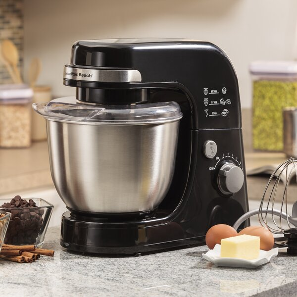 Stainless Steel Stand Mixer by Hamilton Beach