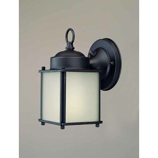 Reviews 1-Light Outdoor Wall Lantern By Volume Lighting