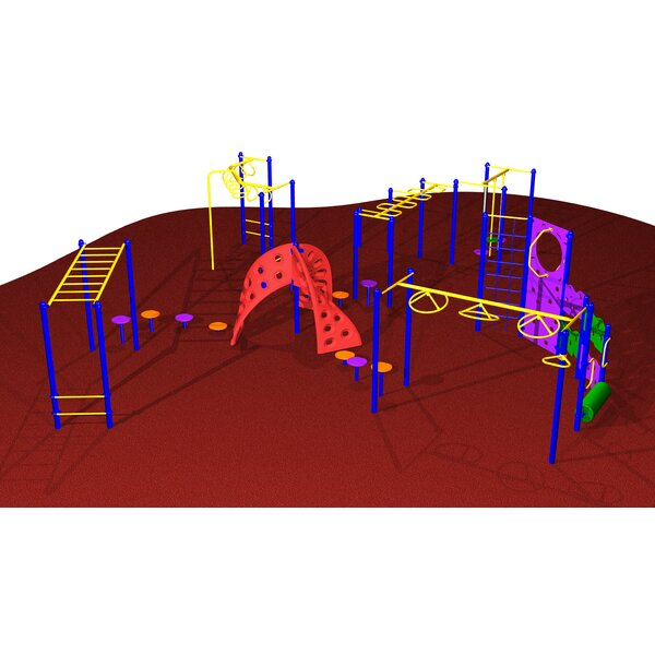 Fun and Challenge Center by Kidstuff Playsystems,