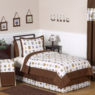Night Owl 4 Piece Twin Comforter Set by Sweet Jojo Designs
