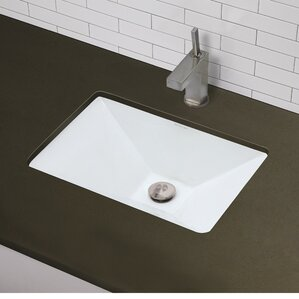 Undermount Bathroom Sink With Granite find the best undermount sinks | wayfair
