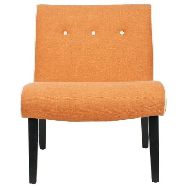 Kesha Slipper Chair by Wrought Studio