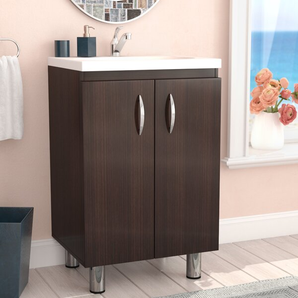 Koenig 18 Single 2 Door Vanity Set by Zipcode Design