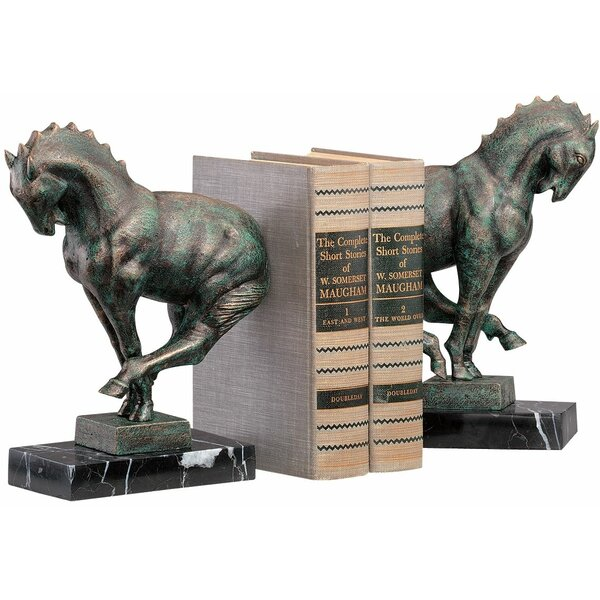 Full Gallop Book Ends (Set of 2) by Design Toscano