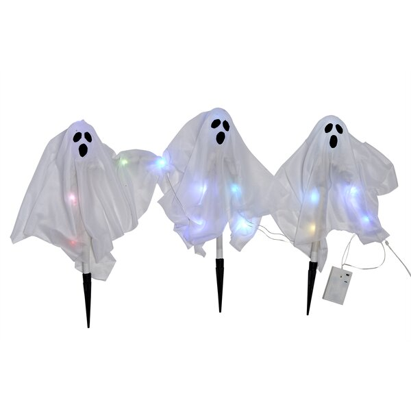 Ghost Path Makers Lighted Display Set (Set of 3) by The Holiday Aisle