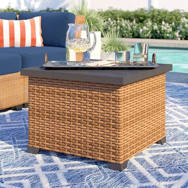 Waterbury Metal Side Table by Sol 72 Outdoor