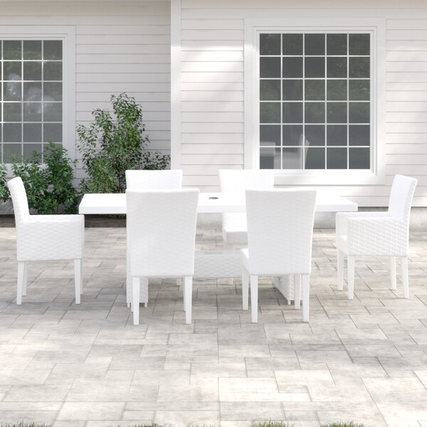 Menifee 7 Piece Dining Set with Cushions by Sol 72 Outdoor