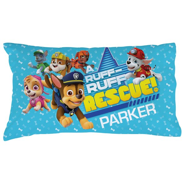 Paw Patrol Ruff Rescue Pillowcase by CPS
