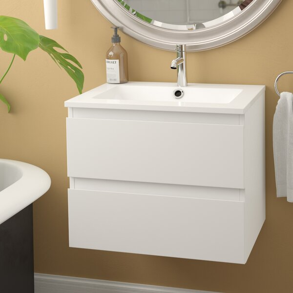 Kizzie 24 Single Bathroom Vanity by Orren EllisKizzie 24 Single Bathroom Vanity by Orren Ellis