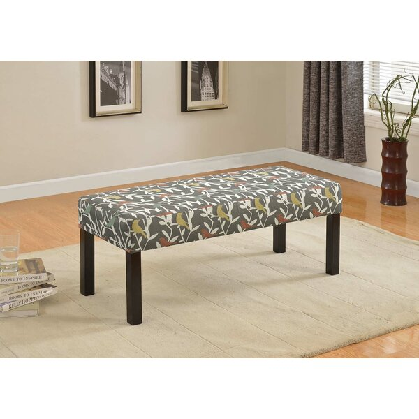 Connie Upholstered Bench by Ebern Designs