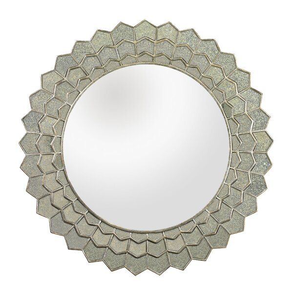 Sunflower Wall Mirror by Brayden Studio