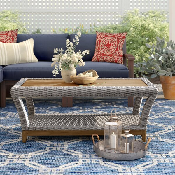 Kincaid Coffee Table by Rosecliff Heights