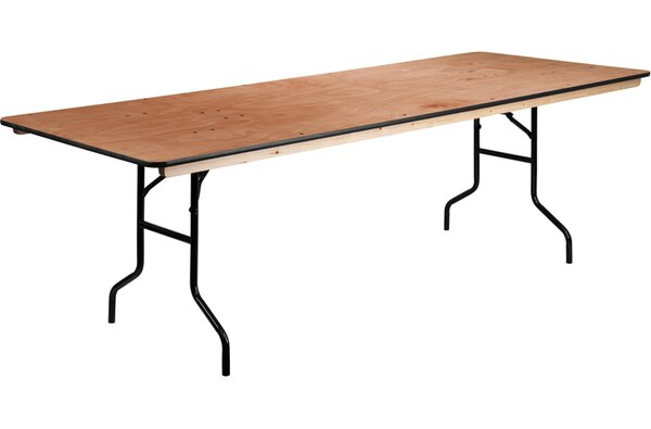 96'' Rectangular Folding Table by Flash Furniture