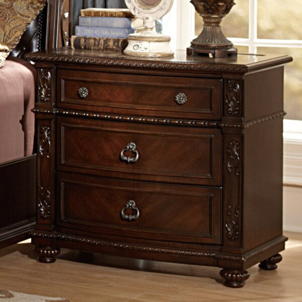 Hillcrest Manor 3 Drawer Bachelors Chest by Woodhaven Hill