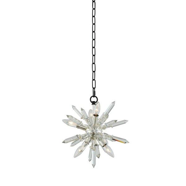 Desalvo 6-Light Sputnik Sphere Chandelier by Mercer41 Mercer41
