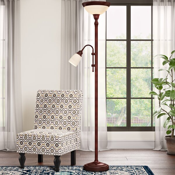 Patrick 71.25 Torchiere Floor Lamp by Andover Mill
