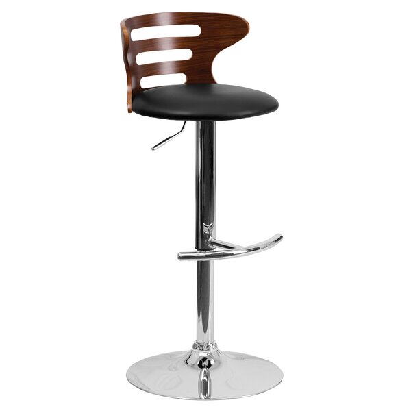 Adjustable Swivel Bar Stool by Offex
