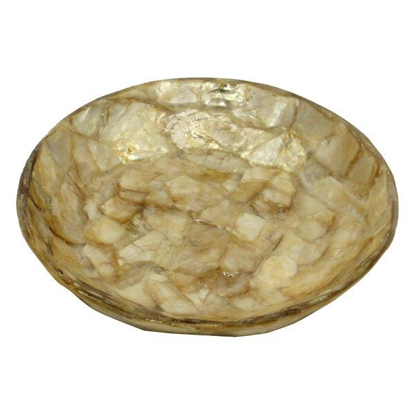 Gold Flake Soap Dish by Dekorasyon Gifts & Decor