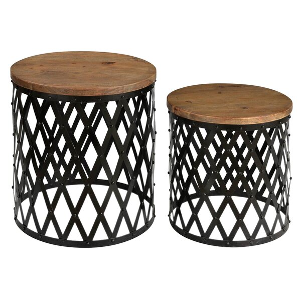 Venne 2 Piece Nesting Tables by Gracie Oaks