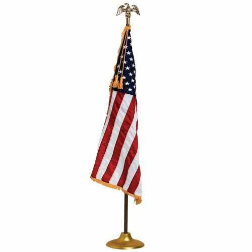 American Embroidered Nylon 3 x 5 ft. Flag Set by U.S. Flag Store