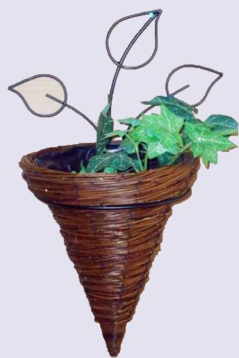 Huesing Willow Cone Wall Planter by August Grove