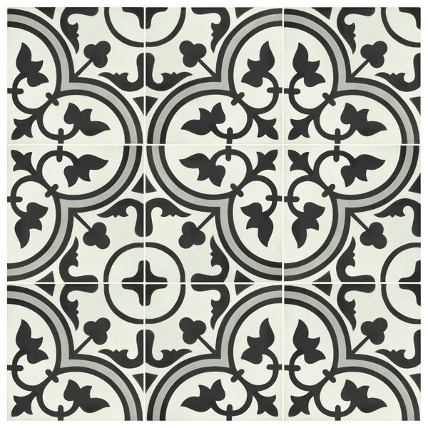 Ciment Artea 7.88 x 7.88 Cement Field Tile by EliteTile