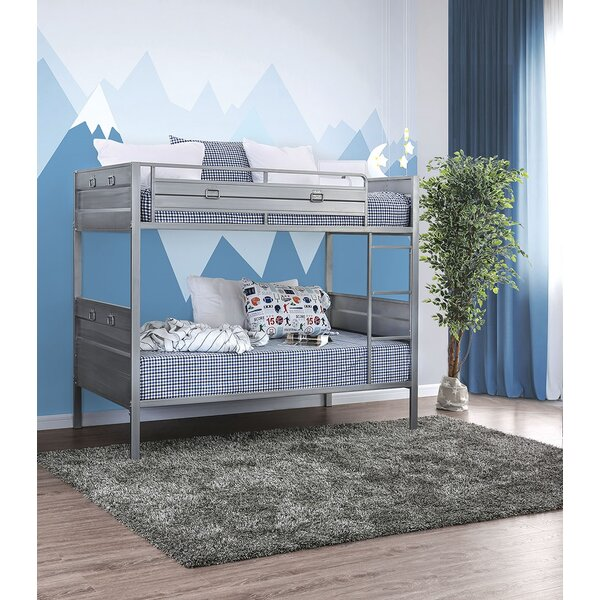 Rutkowski Twin Over Twin Bunk Bed by Zoomie Kids