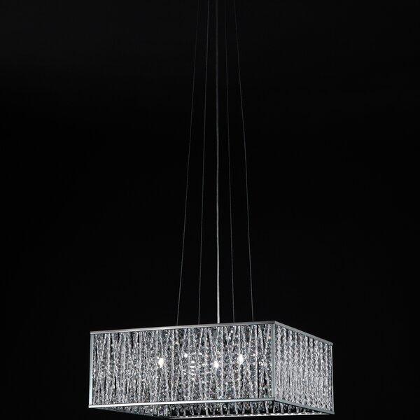 Kadyn 5 - Light Lantern Square Chandelier By Orren Ellis