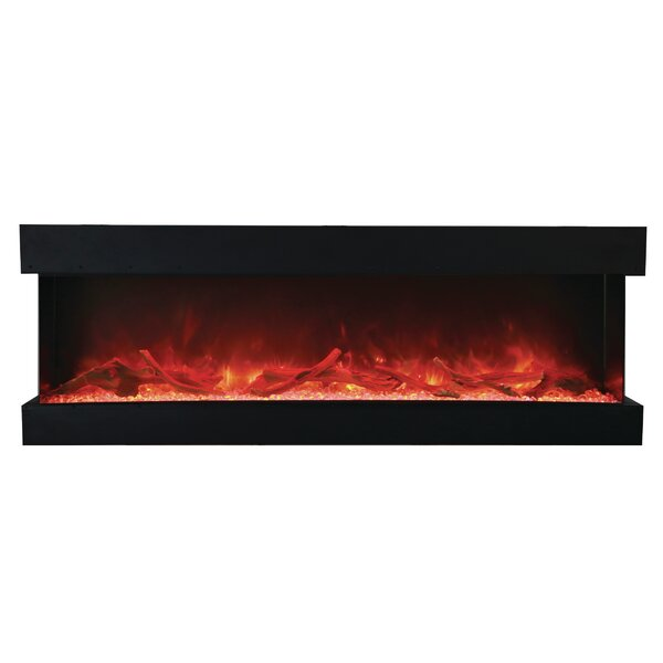 Attridge 3-Sided Wall Mounted Electric Fireplace b