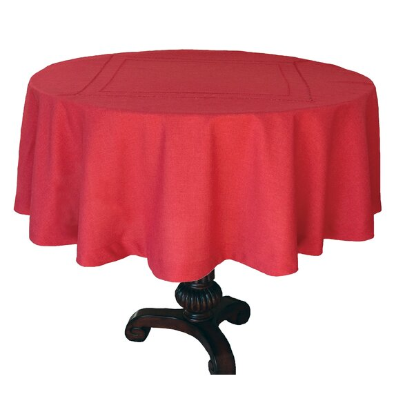 Handmade Double Hemstitch Easy Care Tablecloth by