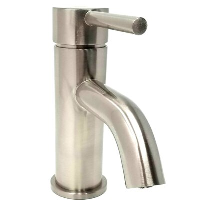 S-Series Euro Single Hole Bathroom Faucet with Drain Assembly