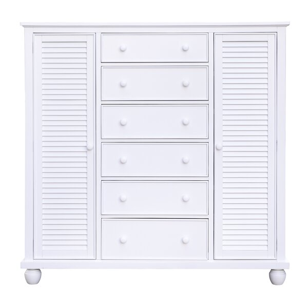 Toni Nantucket Armoire by Rosecliff Heights