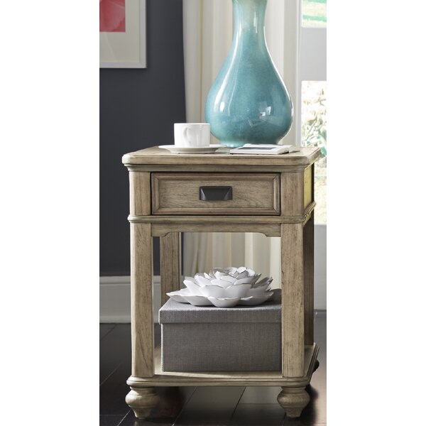 Nolanville End Table With Storage By Gracie Oaks