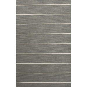 Swans Island Gray/Ivory Stripe Area Rug