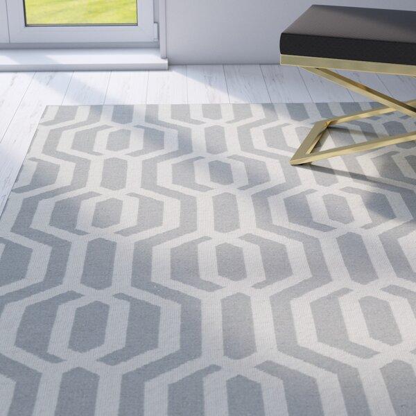 Camillei Gray/Cream Indoor/Outdoor Area Rug by Willa Arlo Interiors