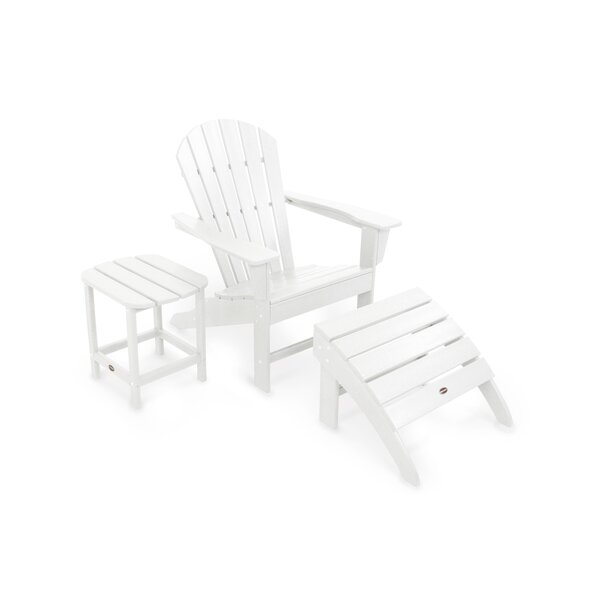 South Beach Plastic Adirondack Chair by POLYWOOD POLYWOOD®