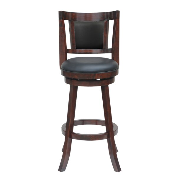 Goehring 29 Swivel Bar Stool by Andover Mills