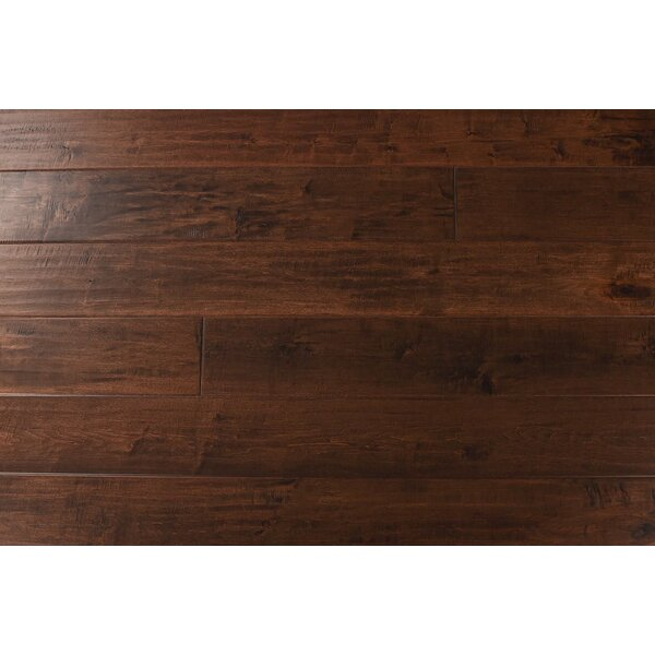 Fieldstone 7-1/2 Engineered Maple Hardwood Flooring in Papua by Albero Valley