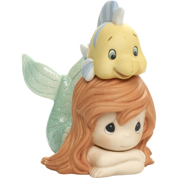 Disney Showcase Life Is Better With A Good Friend the Little Mermaid and Ariel Figurine by Precious Moments